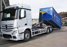 Transport container pentru deseuri