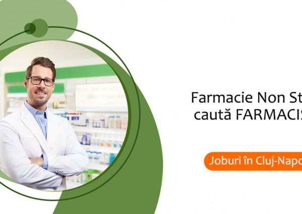 Job Farmacist in Cluj Napoca
